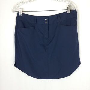 Adidas Navy Golf Athletic Skirt Size 8